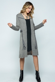 Vocal Apparel Long Jacket With Belt - Other