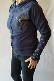 Vocal Apparel Long Sleeve Hoodie - Front full body