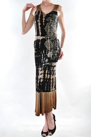 Vocal Apparel Maxi Sleeveless Dress With Stones - Product Mini Image