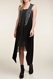 Vocal Apparel Wings & Stones Vest - Back cropped