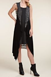 Vocal Apparel Wings & Stones Vest - Front cropped