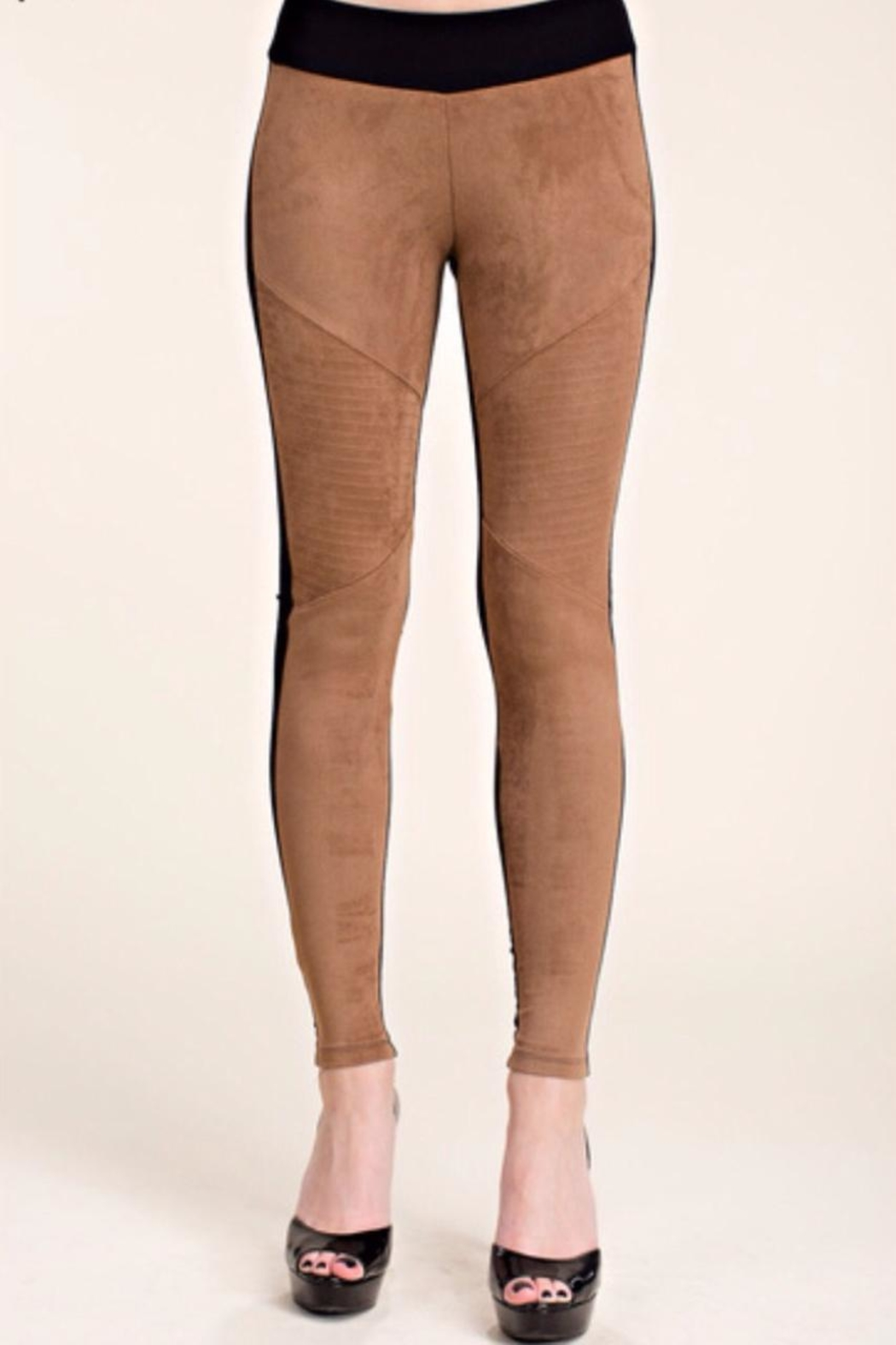 Vocal USA Suede Front Leggings - Main Image