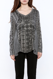 Voice Of California Loose Long Sleeve Top - Side cropped