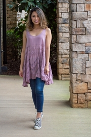 Free People Voile and Lace Trapeze Slip Dress - Product Mini Image