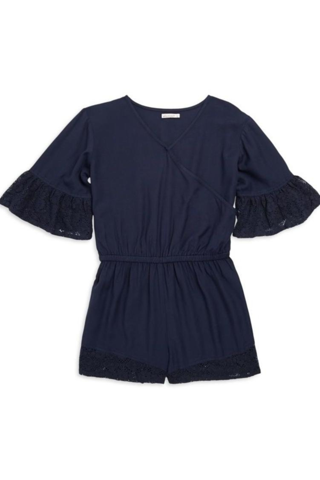 Ella Moss Voile Romper - Front Cropped Image