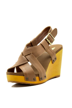 Shoptiques Product: Leather Wedge