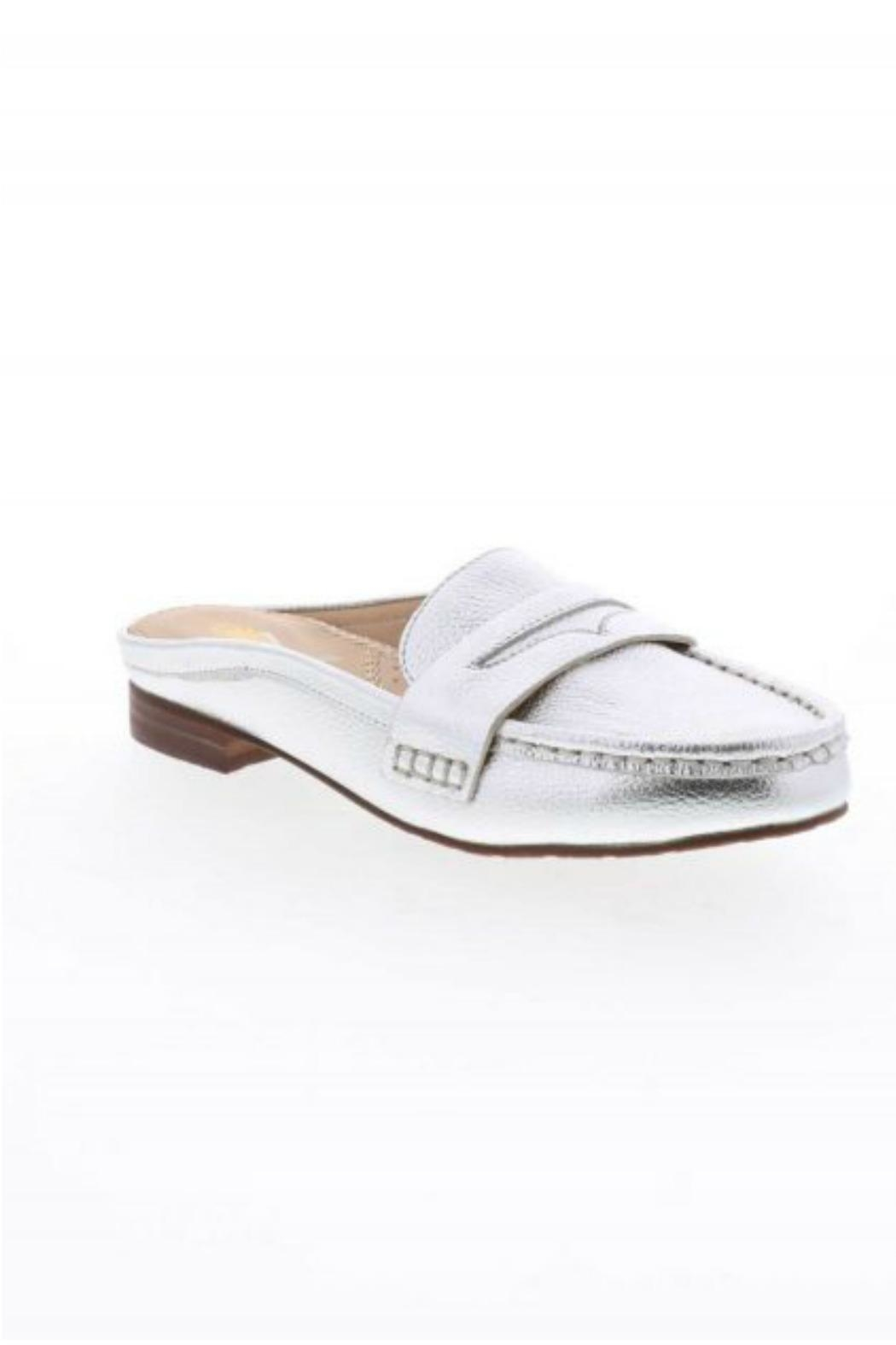 Volatile Metallic Slide Loafers - Front Cropped Image