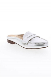 Volatile Metallic Slide Loafers - Front cropped