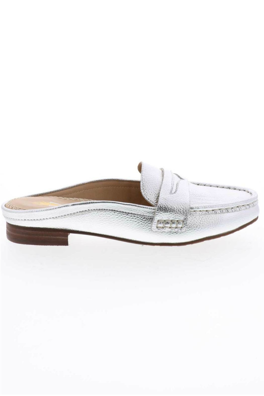 Volatile Metallic Slide Loafers - Side Cropped Image