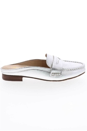 Volatile Metallic Slide Loafers - Side cropped