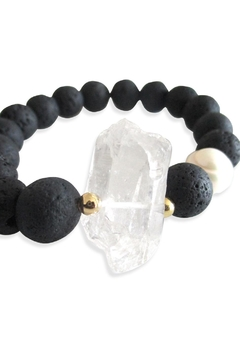 Malia Jewelry Volcanic Quartz Bracelet - Alternate List Image