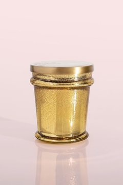 Capri Blue Volcano Gold Glitter Found Glass 8 Ounce Candle - Product List Image