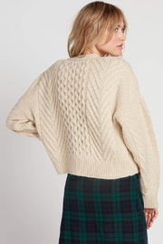 Volcom Cable Knit Cardigan - Front full body