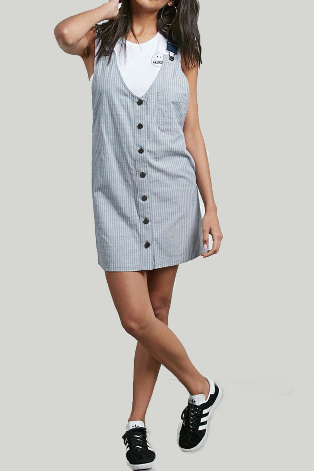 Volcom Cham Striped Dress - Main Image