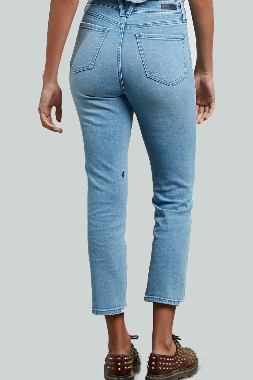 Volcom Girlfriend Ankle Jeans - Front Full Image