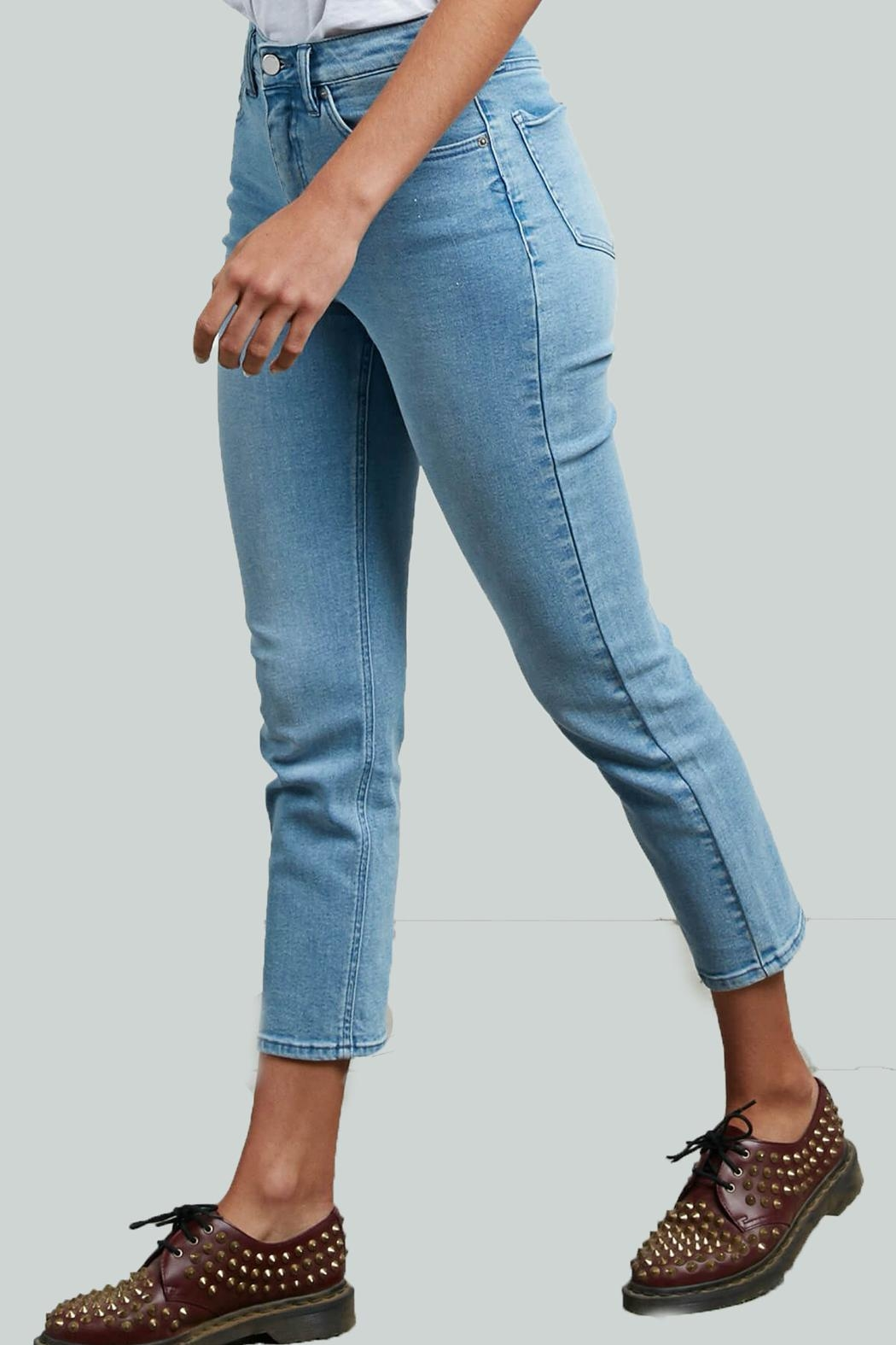 Volcom Girlfriend Ankle Jeans - Main Image