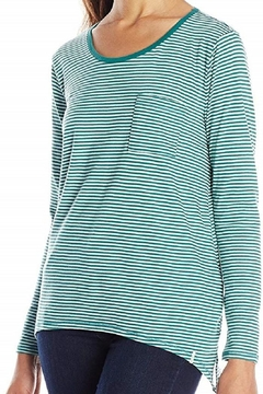 Volcom Green Stripe Long-Sleeve - Alternate List Image