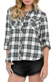 Volcom Plaid Button-Down Top - Product Mini Image