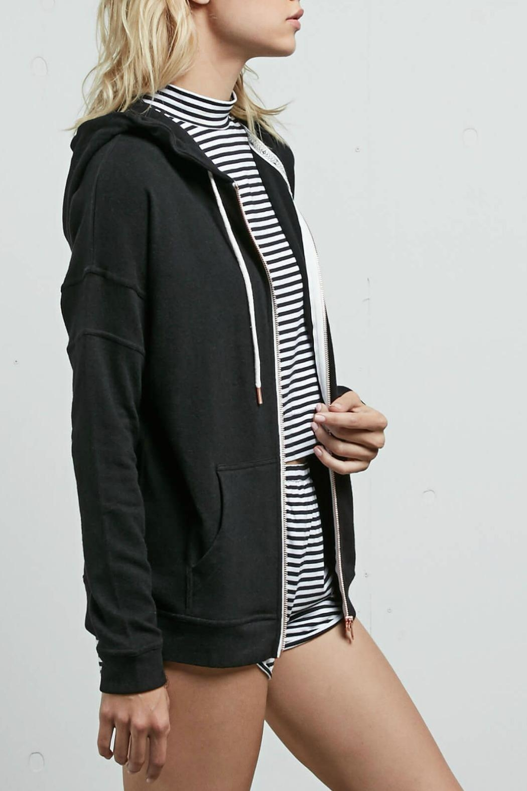 Volcom Lil Zip Fleece - Front Full Image