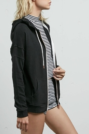 Volcom Lil Zip Fleece - Front full body
