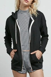 Volcom Lil Zip Fleece - Front cropped