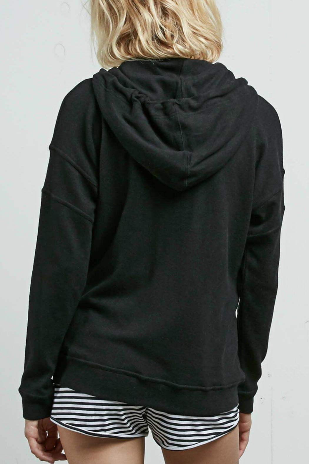Volcom Lil Zip Fleece - Side Cropped Image