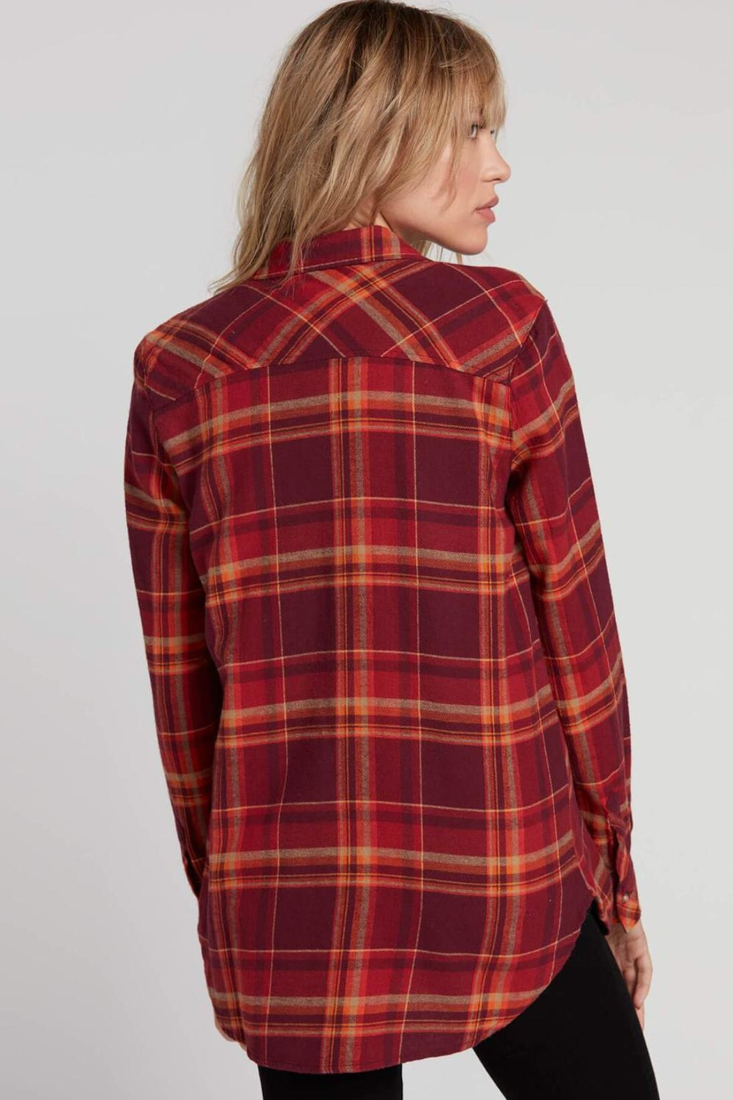 Volcom Multicolored Flannel - Front Full Image