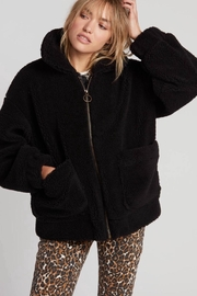 Volcom Sherpa Bomber Jacket - Front cropped