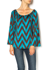 Vole Women's Peasant Top - Product Mini Image