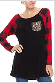 Voll Buffalo Plaid Tunic - Product Mini Image
