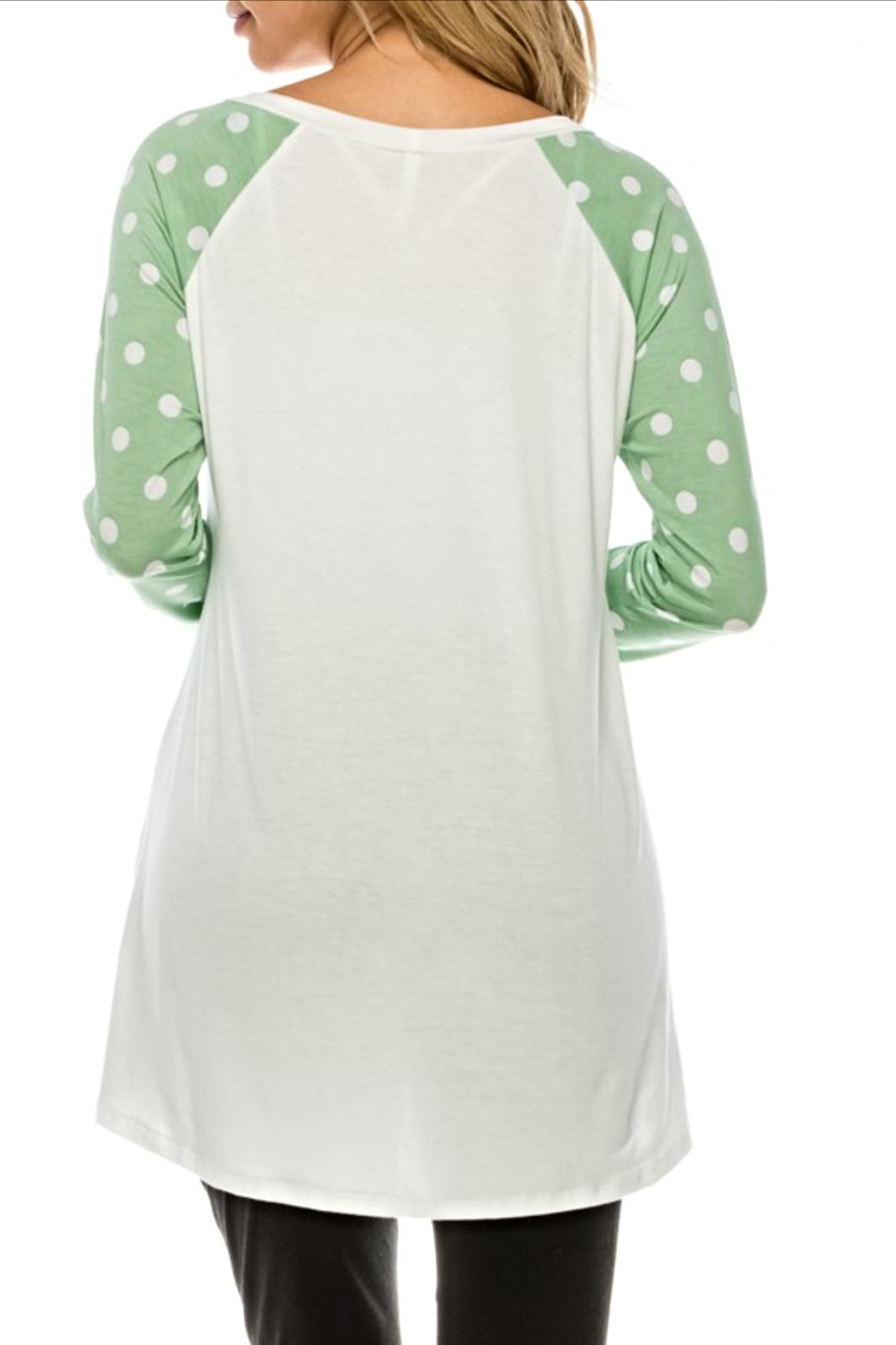 Voll Heart Detail Tunic - Front Full Image