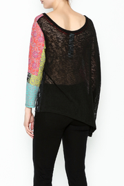 VOLT Design Aysmmetrical Sweater - Back cropped