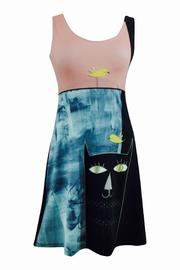 VOLT Design Black Cat Dress - Product Mini Image