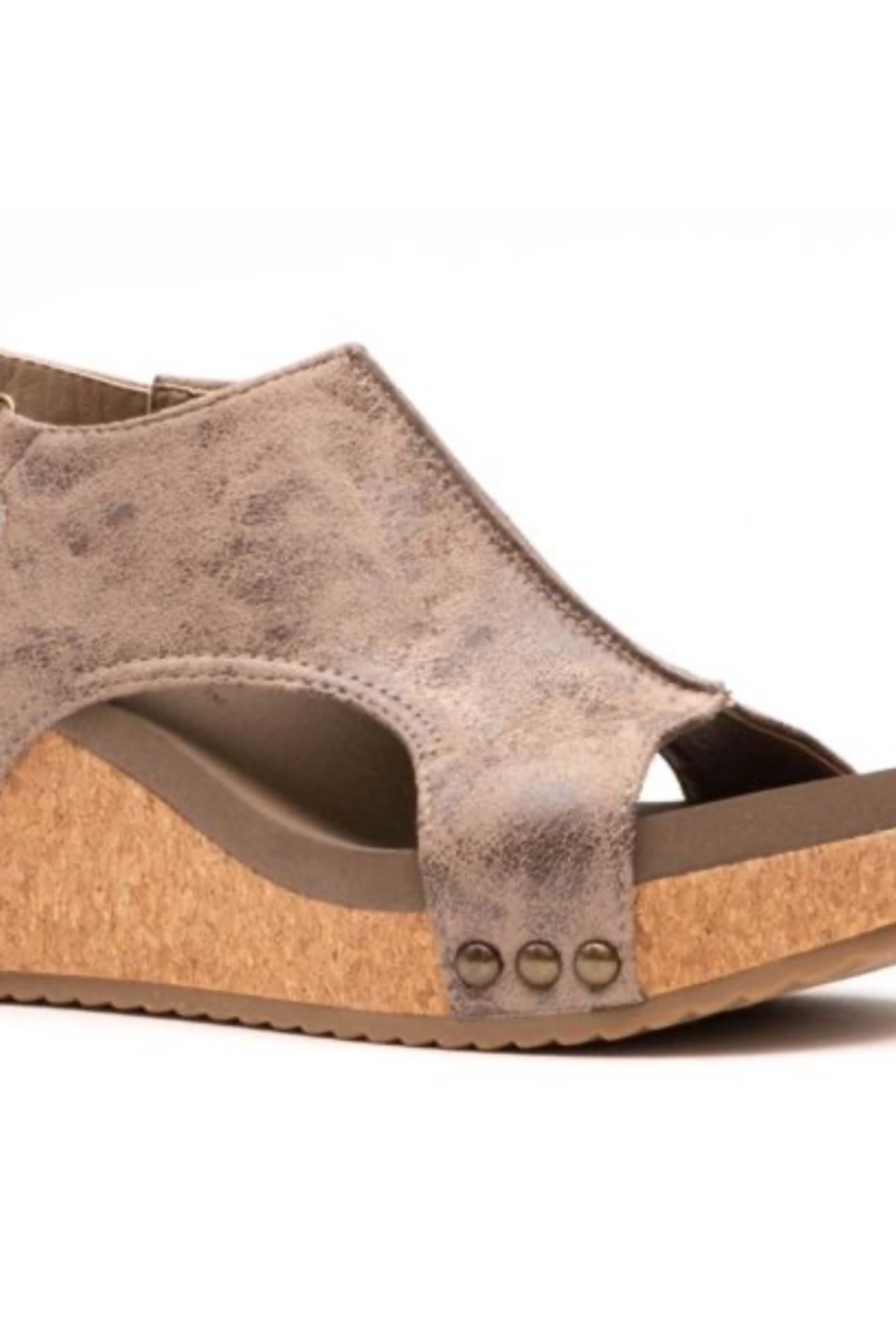 Kindred Mercantile  Volta Corkys Wedges - Front Cropped Image