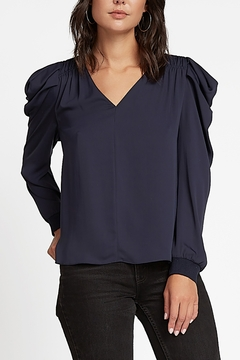 Current Air  Volume Shoulder Blouse - Product List Image