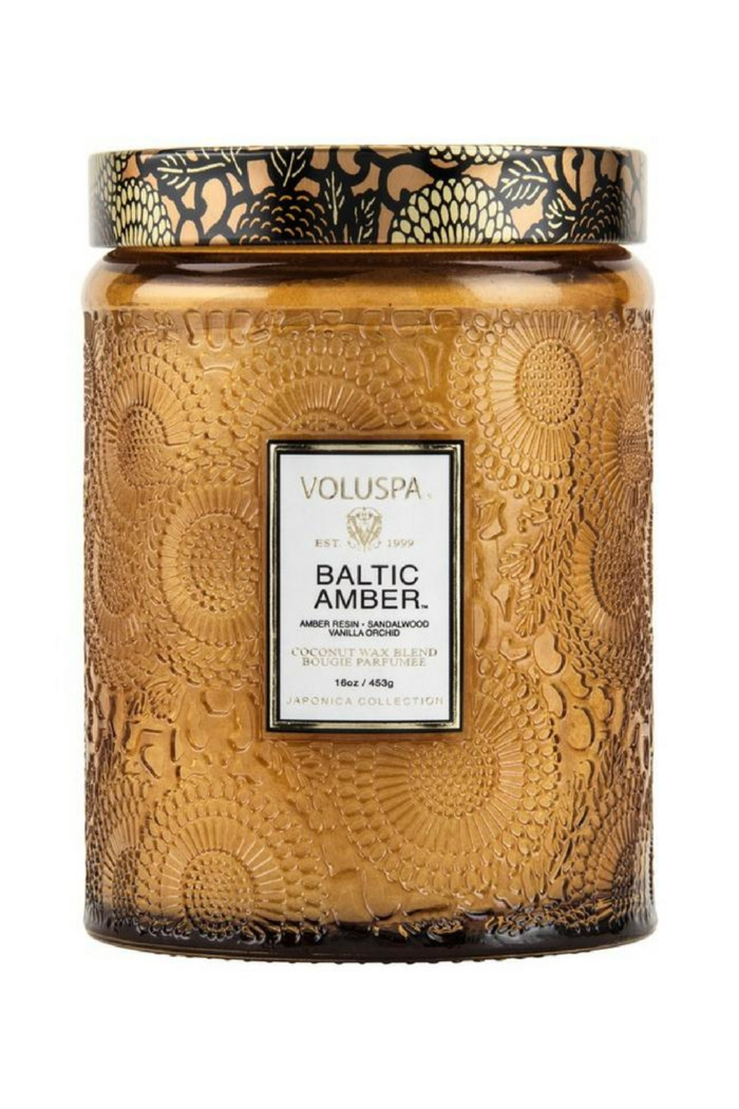 Voluspa Baltic Amber Candle - Front Cropped Image