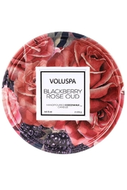 Voluspa Blackberry Rose Tin - Product Mini Image