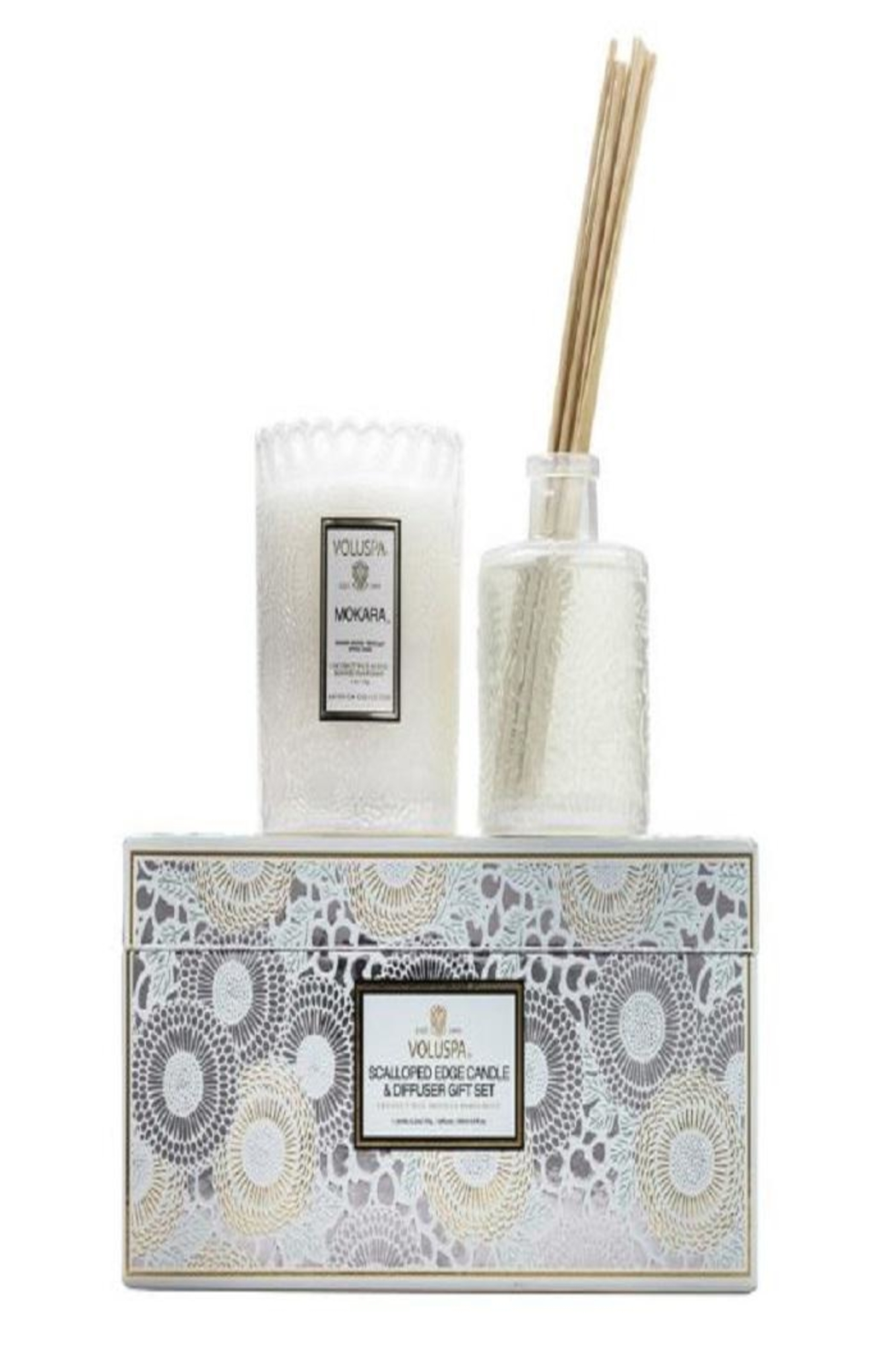 Voluspa Candle Diffuser Set - Front Cropped Image