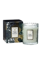 Voluspa Frechcade Scallop Candle - Front cropped