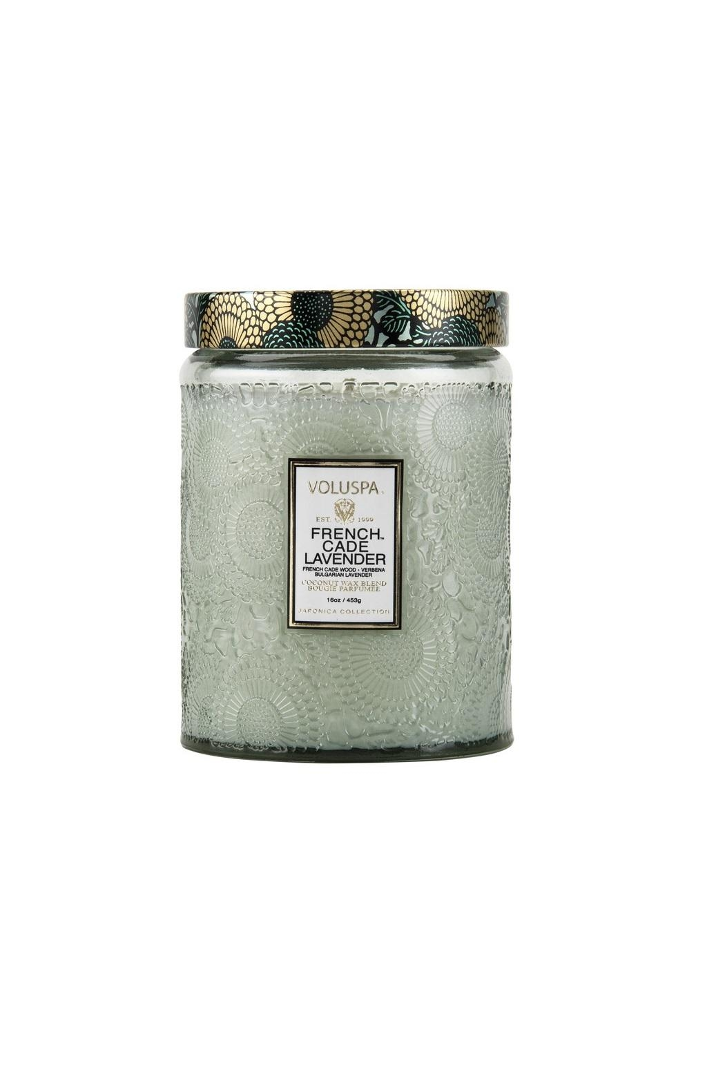 Voluspa Frenchcade Jar Candle - Side Cropped Image