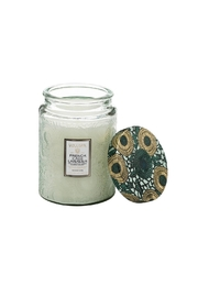 Voluspa Frenchcade Jar Candle - Front cropped