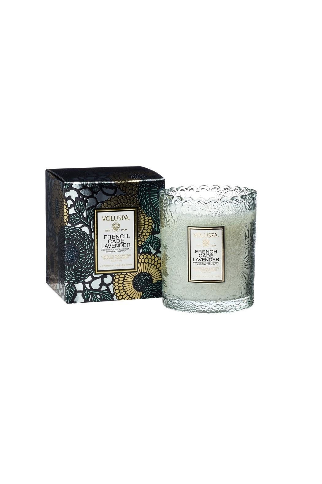 Voluspa Frenchcade Scallop Candle - Main Image