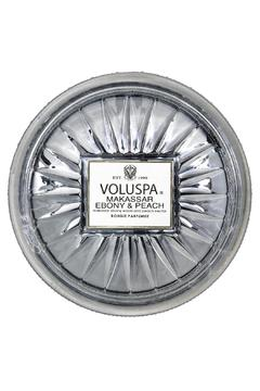 Voluspa Makassar Ebony & Peach Candle - Alternate List Image