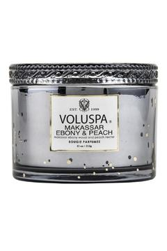 Voluspa Makassar Ebony & Peach Candle - Product List Image