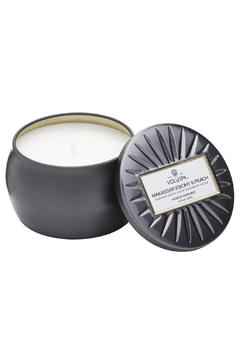 Voluspa Makassar Ebony & Peach Petite Candle - Alternate List Image