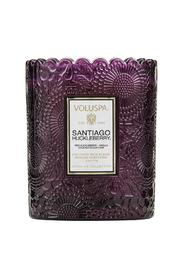 Voluspa Santiago Huckleberry Candle - Front cropped