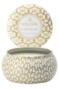 Voluspa Suede Blanc Candle - Alternate List Image