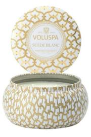 Voluspa Suede Blanc Candle - Product Mini Image