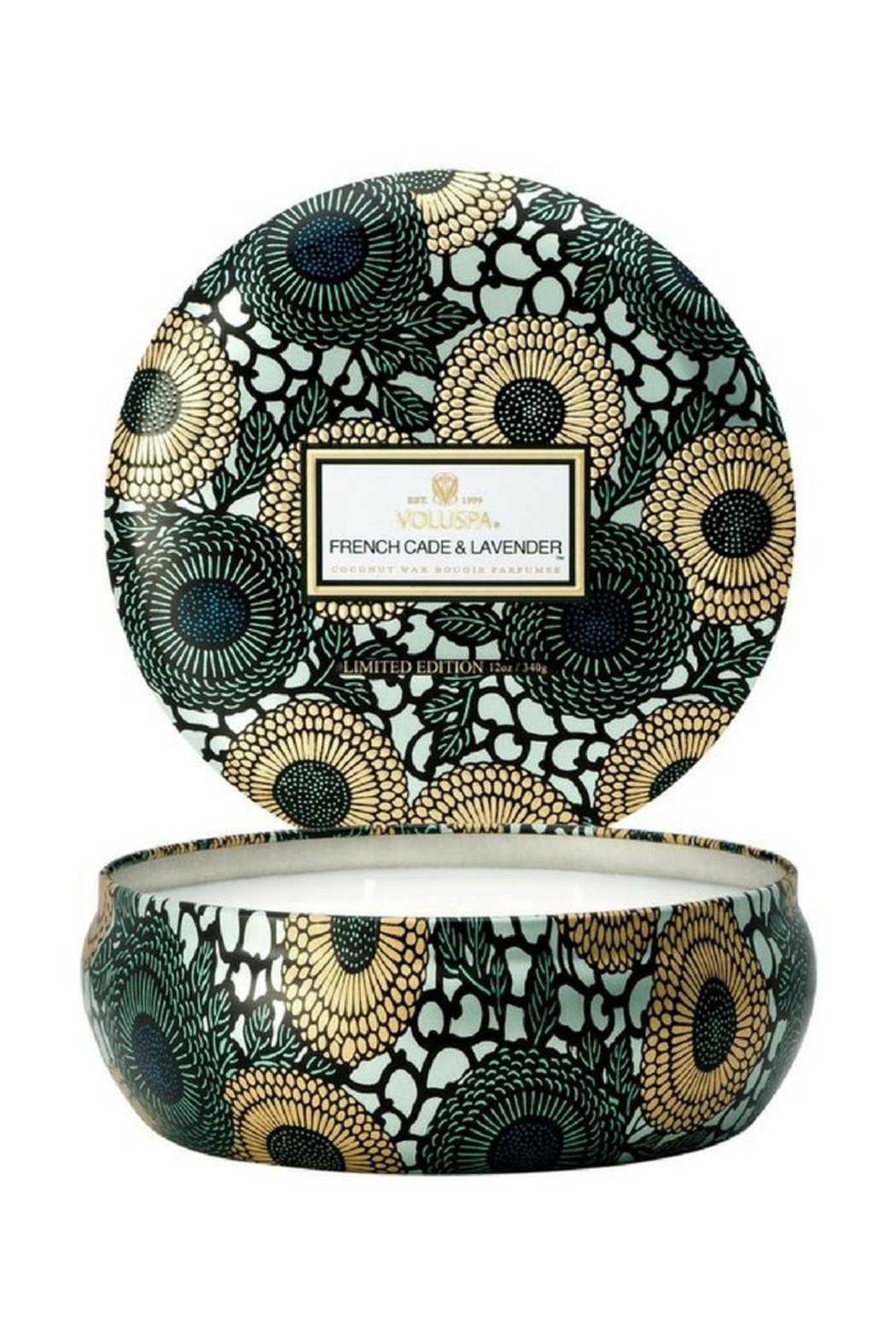 Voluspa Three Wick Candle - Front Cropped Image