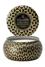 Voluspa Vervaine Olive Leaf Candle - Front full body